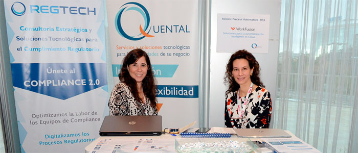 Stand Quental en evento Insurance Revolution